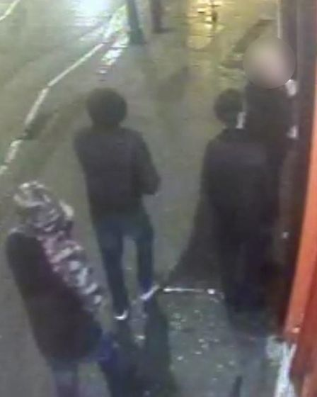 Police have released CCTV footage after a knife attack in Muswell Hill (Met Police)