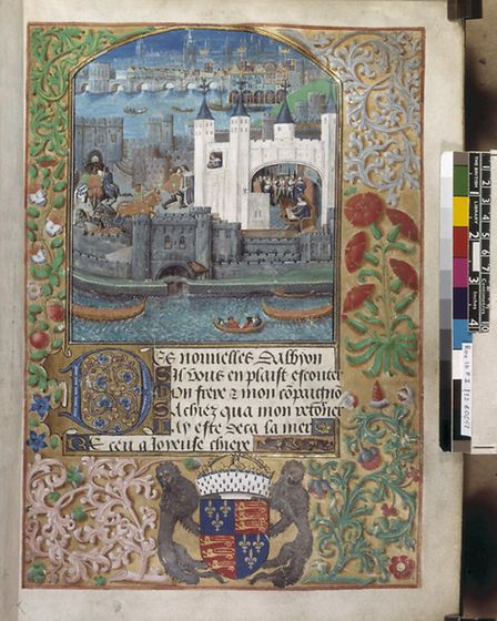 Illuminated manuscripts show some of the earliest depictions of London's geography