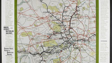 Early maps of the London Underground looked quite different from the neat and simple version we use
