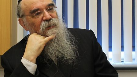 Call for more regulation: Rabbi Abraham Pinter. Picture: Hackney Council