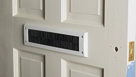 Exterior doors should also be fitted with keyhole and letterbox covers/flaps to stop cold air coming