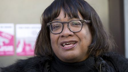 Hackney North and Stoke Newington MP Diane Abbott. Picture: Isabel Infantes/PA Wire
