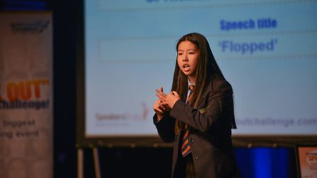 Lin Ly, from St Thomas More Catholic School, bagged first place. Credit: Tony Preece