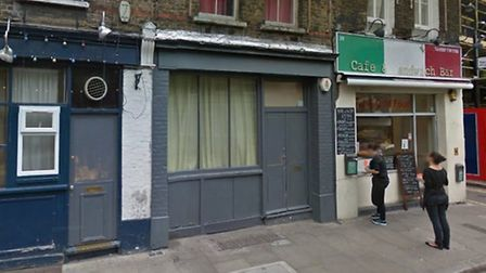The two buildings that could become Edwin's Wine Bar. Picture: Google Maps