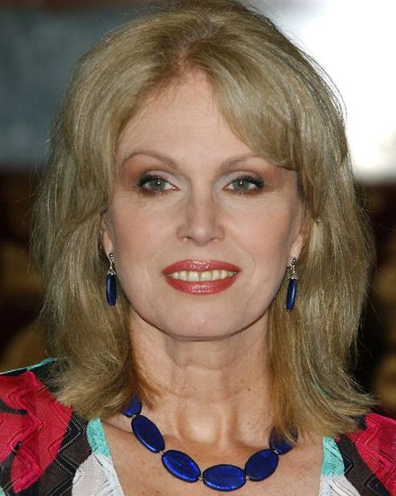 Actress Joanna Lumley has also added her name to the petition PICTURE: PA