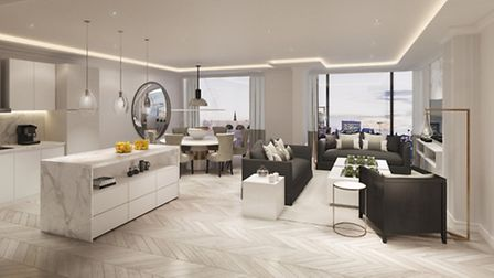 Kelly Hoppen has bought her signature style to the 49 apartments