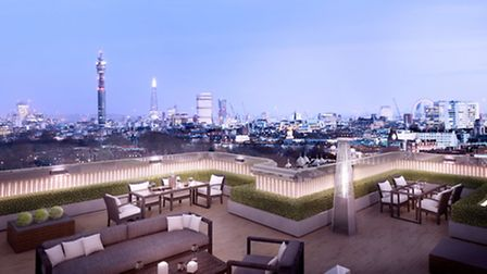Prices start at �1.1 million, and the three penthouses will come with private roof terraces