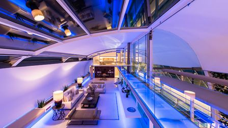 Is this the most bonkers property in London? Photo credit: French + Tye