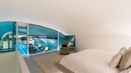 Fancy a dip? You can dive from the master bedroom into the pool. Photo credit: French + Tye