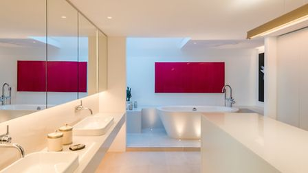 Top of the range bathrooms are a must for properties in this price bracket. Photo credit: French + T