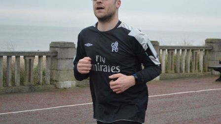 Mr Daws undertook the 5km parkrun in Lowestoft on December 3 and is now looking ahead to April's mar