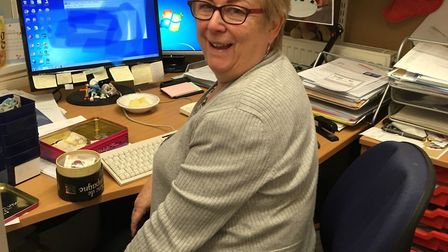 Hillary Wright is leaving Grove Primary School aftr 22 years. Picture: Courtesy of Amanda Ward