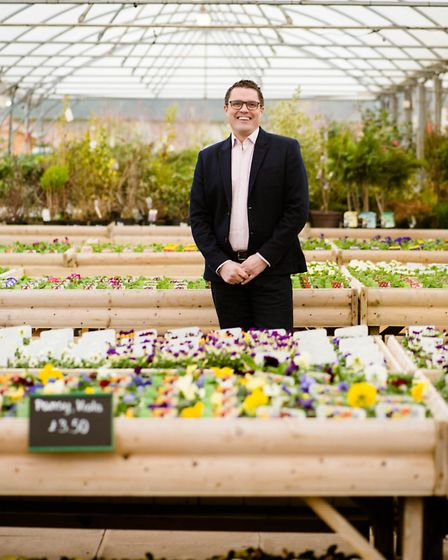 Mark Sage, head of horticulture at Wyevale Garden Centres