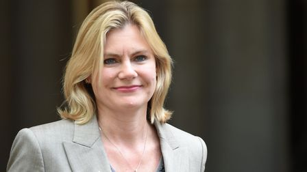 Justine Greening, who has said she could be prepared to run for the Tory leadership if Theresa May r
