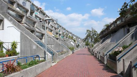 Alexandra & Ainsworth Estate in South Hampstead, 1978, is a crowning example of Camden Council's rad