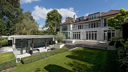 With its wide plot and enormous garden the new property turned out to be even better suited to the b