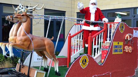 Santa's sleigh is coming to Attleborough. Picture: Mick Howes