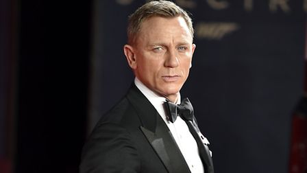 Daniel Craig tangled with a tree in his Camden garden
