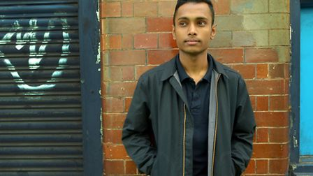 Azijul Islam has condemned conditions at a homeless hostel where he lived as a 17-year-old. Picture: