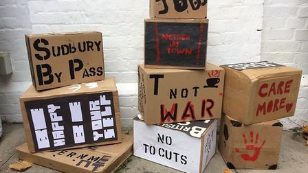 Arts charity, Suffolk Artlink, are inviting residents of Lowestoft to a free protest arts event and
