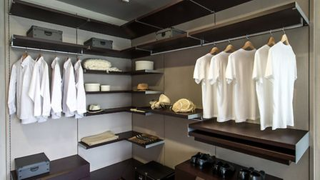 Smart technology might come as standard but to seal the deal you need serious wardrobe space