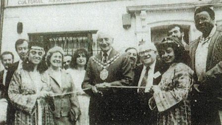 The Gazette reported the opening ceremony of the organisation's new HQ in Graham Road on June 22 198