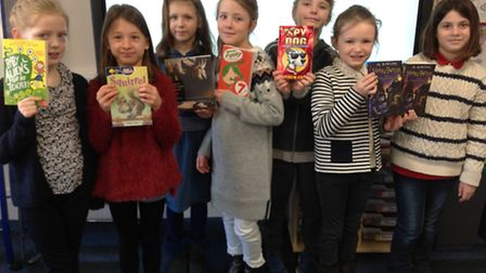 St Anthony'�s School for Girls took up a reading challenge in celebration of National Storytelling W