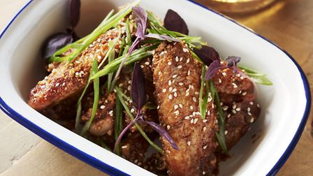 Randy's Gangnam chicken wings