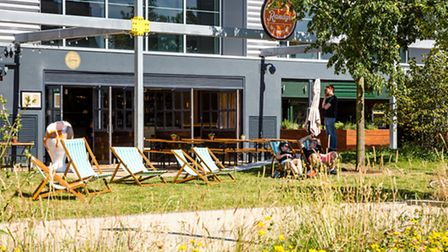 Randy's at Canalside, in the former 2012 media building