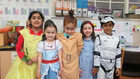 Coldfall Primary School World Book Day 2017
