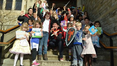 World Book Day at Fitzjohns Primary School.