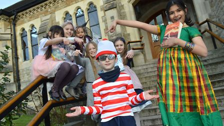 World Book Day at Fitzjohns Primary School