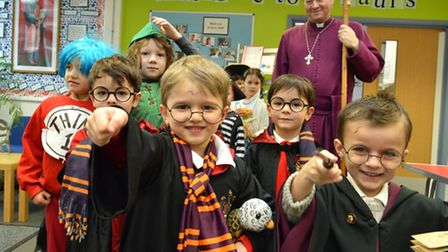 World Book Day at St Paul's Primary School