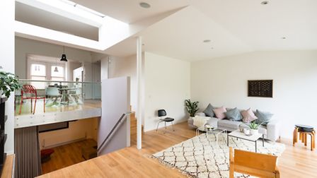 You'd never guess that this contemporary family home was once a gold plated Art Deco nightmare