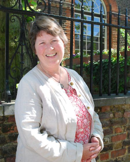 Catherine Budgett-Meakin of the Highgate Society Sustainable Homes Group