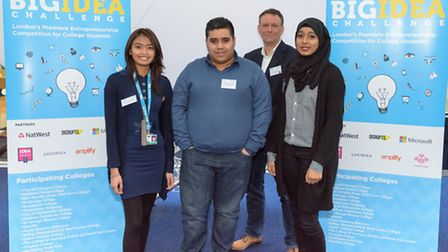 The team from BSsix. Picture: London Met