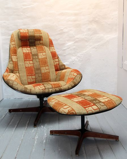 American chair and footstool, WCD Designs
