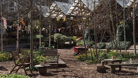 The Dalston Eastern Curve Garden. Picture: Dalston Eastern Curve Garden
