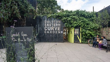 The Dalston Eastern Curve Garden. Photo Diana Jarvis