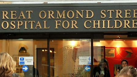 Great Ormond Street Hospital, where Michael's mum said she asked for him to be taken.