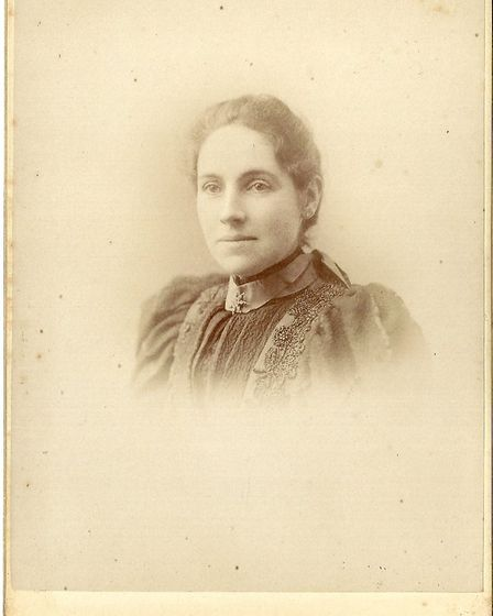 Portrait from an album made in Lowestoft which belonged to Henri Carbonez (1852-1926) and Celina Bil