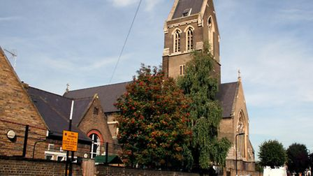 A file image of St Matthias Church in Wordsworth Road, Stoke Newington. Picture: Dr Neil Clifton/Geo