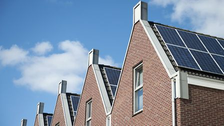 Solar panels can increase the thermal efficiency of your home