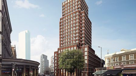 The City Road development. Picture: AHMM Architects