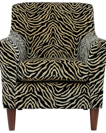 Amber chair in Nyanga, tan, £599, available from Marks and Spencer