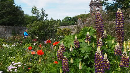 La Seigneurie Gardens in Sark on the island of Guernsey