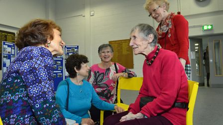 South Hampstead High School alumnae event to celebrate the life of former teacher Marjorie Macaulay.