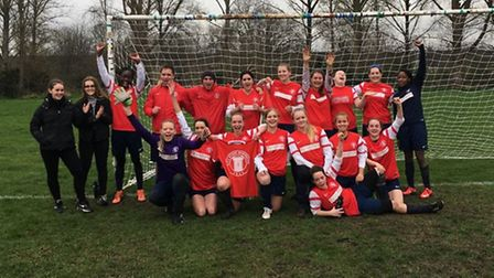 AFC Stoke Newington crowned Greater London Women's Football League Division Three North champions.
