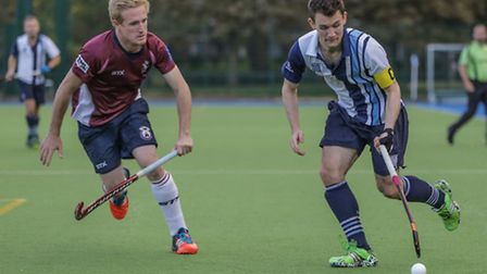 Toby Roche, captain of Hampstead & Westminster's men's first team. Picture: MARK CLEWS