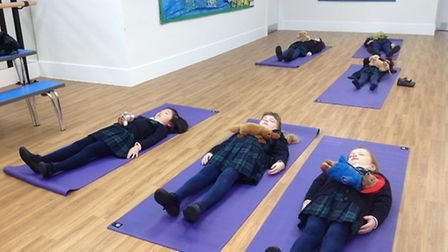 St Anthony's School for Girls try out mindfulness